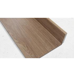 Rodapé PVC expandido acabamento NATURAL OAK 2020X70X10mm