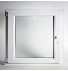 Janela PVC 58x58cm (L x A) Oscilobatente Vidro Duplo ESQ. CANDO